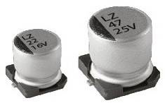 конд.ел. LZ 20%, -40~105°C; D8xL10.5mm, осн. 8.3mm
