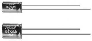 electrolyt.cap. RM, 20%,-40~105°C, 4x7mm RM1.5