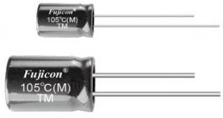 el.cap. TM, 20%,-55~105°C, 5x11mm RM2, 2Ohm
