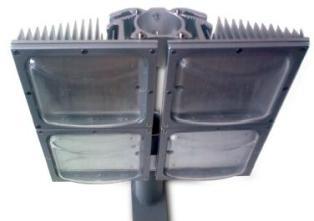 120W Adj. LED Str. Lamp Body Kit, 379x312x126