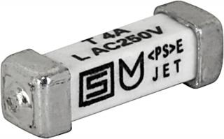 Бавнодействащ предпазител 2A T 250VAC, 10.1x3.0mm SMD