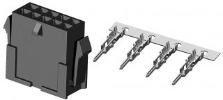 Plug connector, 3.00mm 2X5P 5A/250V