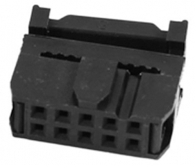 IDC (flat cable) socket connector 50