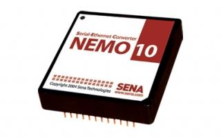 NEMO10 10BaseT Serial Device Server Module