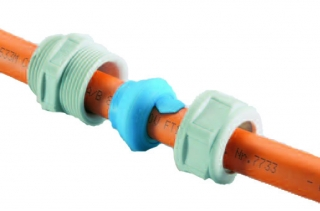 Cable Gland Plastic PA grey