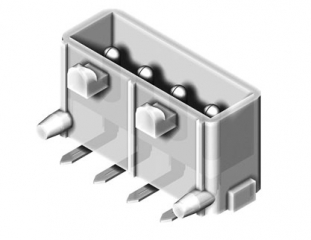 PCB Connector Male Right Angle 5.08mm 4P 6A/250V