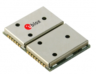 GPS receiver, low cost, 17x22.4mm, 34mA, USB