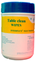 Table Clean pre-saturated wipes