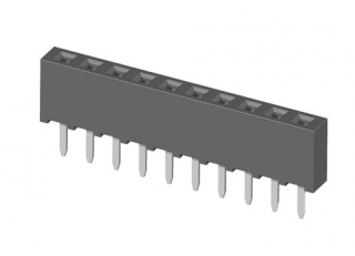 Board to Board Socket, body height 4.5mm, 1x4, straight PCB TH, P2.0mm