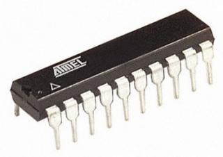 DIP20  2K FLASH; 128B EEPROM; 128B RAM; 15I/O