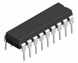 Controller for stepping motors, sense and control the current, Vcc=4.5-7.0V, Ioh min=2.75mA, Vih/Vil=2.0/0.8V