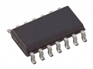 Quad 2-in NAND Gate,Vcc=4.5-5.5V,Vin=0.8/2.0V, tplh/tphl=6/5.3ns || Data Code 2003