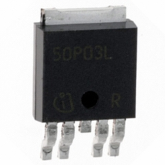 Smart Highside Power Switch, Operating voltage 4.75-41V, Load current 5.8A min, Ron 60mOhm