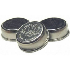 Thermochron iButton, 0.125°C, RTC, 15°C+46°C