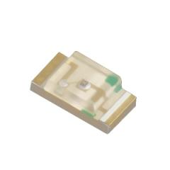 3.2x1.6mm, 110-300 mcd@20mA, Green, W.Clear, 120°