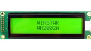 20x2 LCD STN Neg. 116x37x14.5mm B/L LAT+CYR