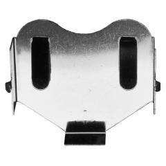 Coin cell PC battery holder, hor. for CR2450