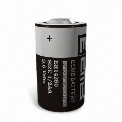 батерия литиева ( Li-SOCl2 ); 3.6V/1200mAh, 1/2AA