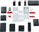 Plastic Box 92x66.5x28, Black