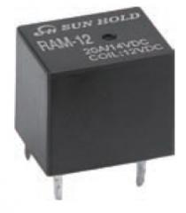 12V /50mA 20A/14VDC 25A max; Automotive Relay