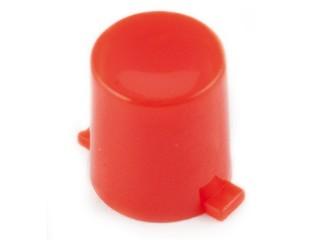 капачка кръгла O7x8mm червена