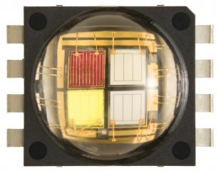7x7.5mm, Neutral White, Chromaticity regions 5A,5B,5C,5D 320lm@350mA per LED, 700mA per LED max, 110deg