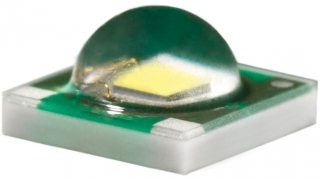3.45x3.45mm Amber 586-595nm, 80.6lm@350mA, 1000mA max, 130deg