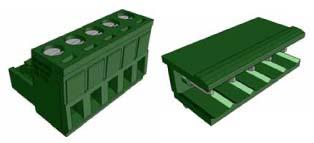 10A 300V AC AWG12-16 5mm 90°
