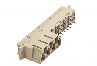 conn.DIN 41612 MH 24+7 f. solder 4.5mm