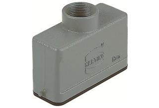 HAN 16A hood,low,1 lever,Pg16