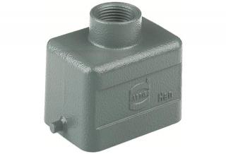 HAN 6B hood,top-entry,low,1 lever,Pg13.5