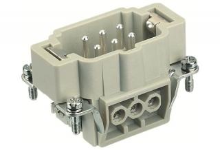 HAN 6E м.,400V,16A,с винт,защитен