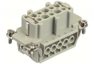 HAN 10E f.,400V,16A,screw,1-10