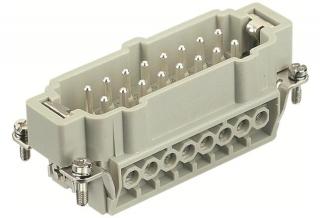 HAN 16E m.,400V,16A,screw,1-16