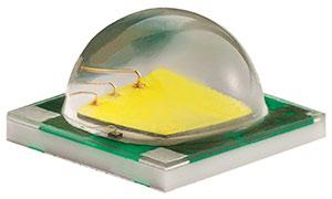 5x5mm ANSI Neutral White 260lm@700mA, 3A max, 125deg