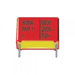 Polypropylene. 2000Vdc  15X26X31.5mm RM27.5mm  5% || Data Code 2004