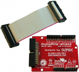 ARDUINO like shield for DUINOMITE 26 pin connector