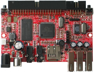 Single-board Linux computer with i.MX233 ARM926J @454Mhz