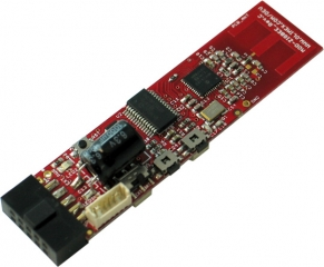 ZIGBEE transceiver module with MRF24J40 and PIC18F26K20