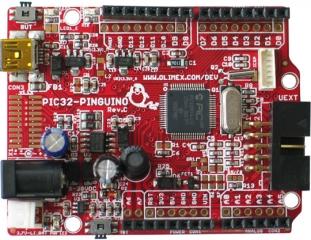 PIC32-PINGUINO-OTG   OLIMEX   Development Boards&Kits