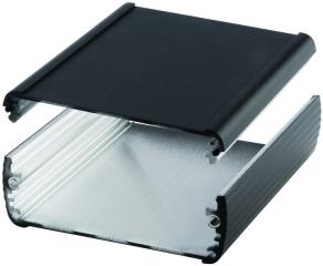 Box Alubos;Al; 100x82x32mm;IP65;Black;2 parts profile