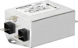 мрежов филтър 250VAC/20A@40°C; 2x0.15mH/68nF/2x22nF; монтаж на панел; Industrial Version