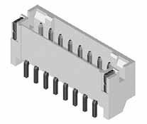 SMD Header side entry 2mm 3P 2A/250V