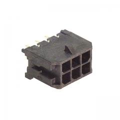 MicroFit3mm 6pin PCB Header Vert Dual