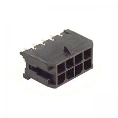 MicroFit3mm 8pin PCB Header Vert Dual