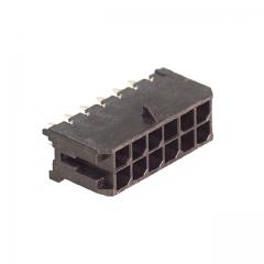 MicroFit3mm 12pin PCB Header Vert Dual