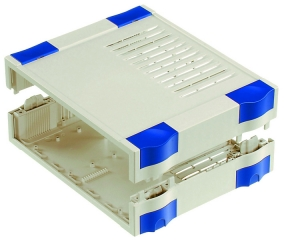 Box Botego;241x81x197mm;IP30;Vent;Light Grey