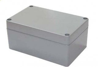 Aluminum Box 220x120x90mm IP65 DIE CAST Grey