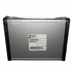 Aluminum Box 160x125x31mm Clear