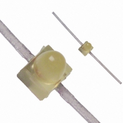 LED Dome Yellow 583nm 90° 2V 10mA Diffused || Data Code 2003